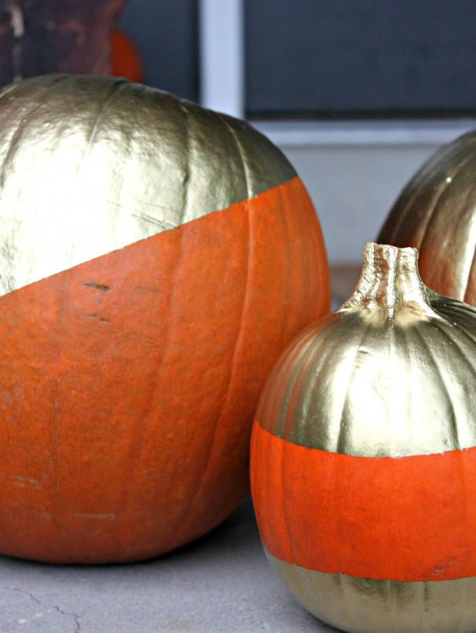Diy Mod Painted Pumpkins Favecrafts Com