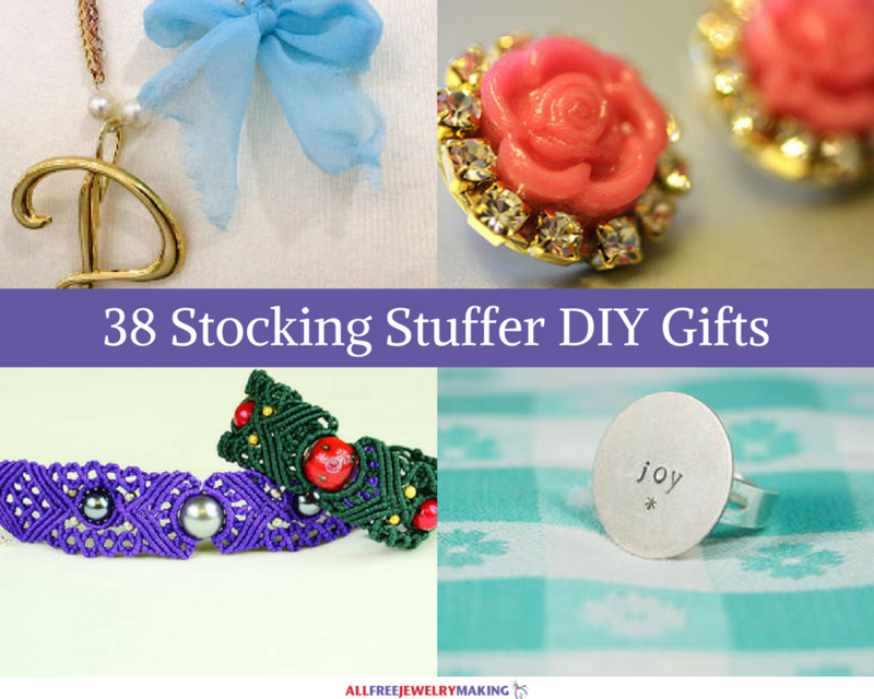 Stunning Stocking Stuffers: 38 Very Merry Homemade Christmas Gifts
