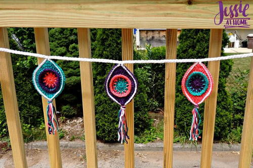 Retro Ornament Bunting
