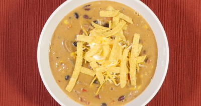 Easy Cheesy Taco Soup
