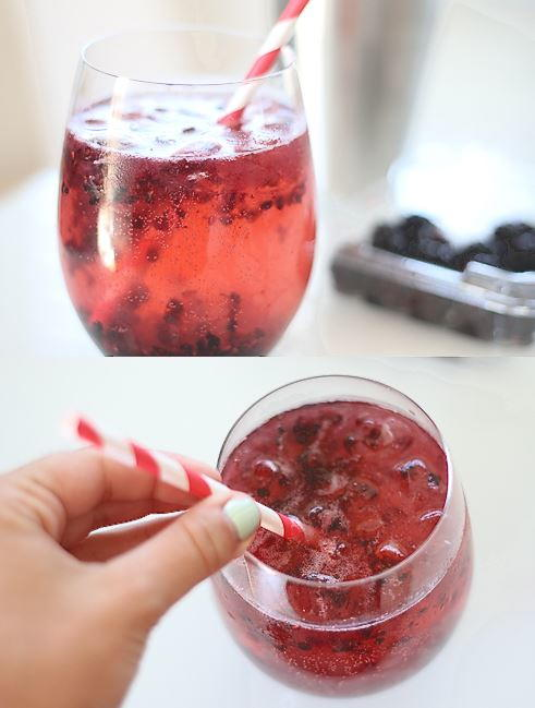 Old Fashioned Blackberry Bramble