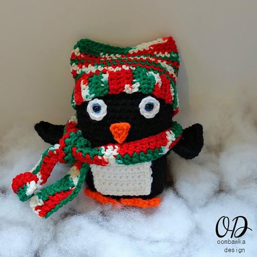 Baby Christmas Penguin