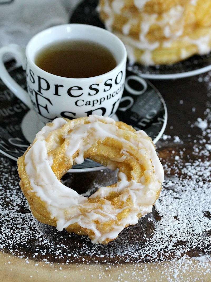 Dunkin Donuts French Cruller Copycat