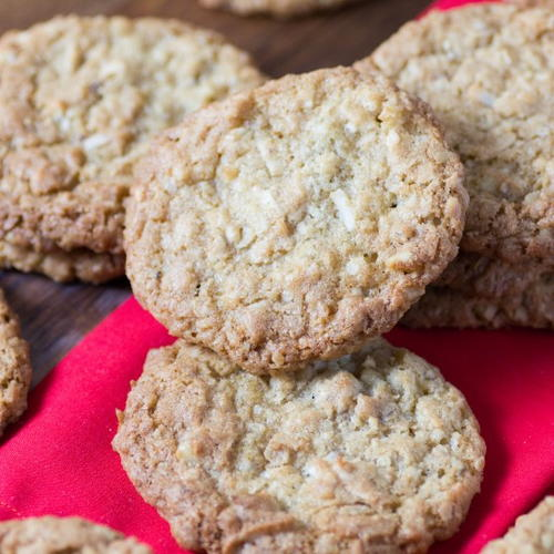 Better Than Dad's Copycat Oatmeal Coconut Cookies