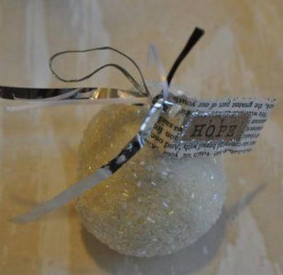 Precious Christmas Ornament Keepsake and Hostess Gift