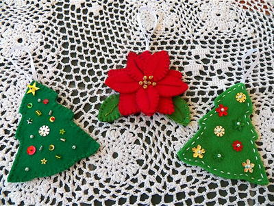 Fun Felt Ornaments