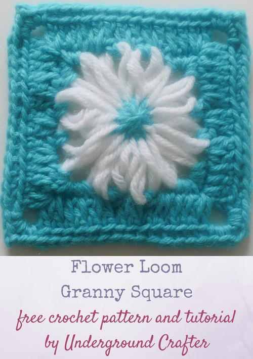 Flower Loom Granny Square Pattern