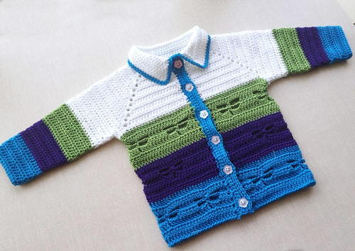 Dragonfly Baby Jacket