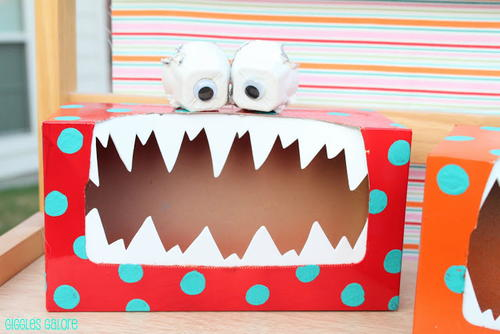 Silly Tissue Box Monster Craft