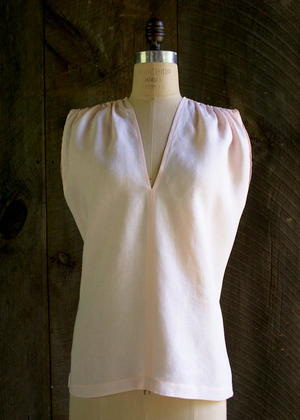 Gathered Shoulder Tunic Tutorial