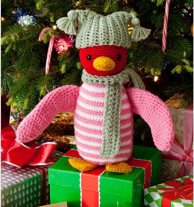 Huggable Penguin Crochet Pattern