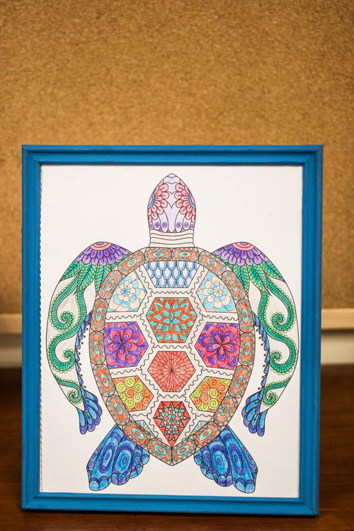 Coloring Book Wall Art