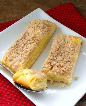 Entenmann's Cheese Filled Crumb Coffee Cake Copycat