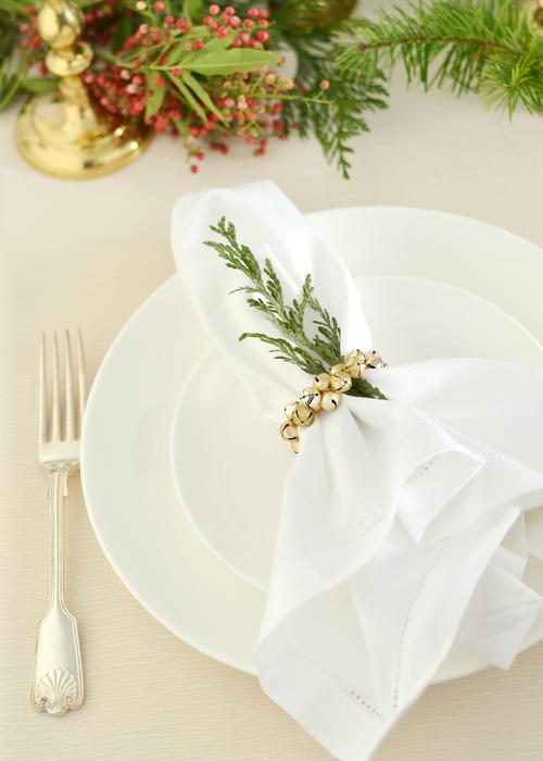 Christmas Table Napkin Ring Craft
