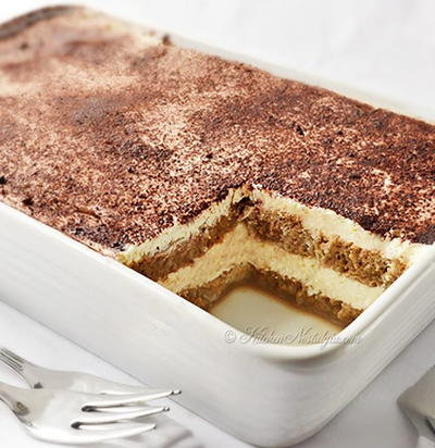 The Easiest Tiramisu Ever