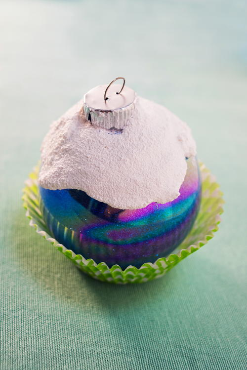 Frosted Cupcake DIY Ornament