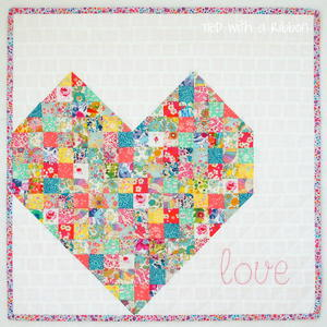 I-Heart-You Mini Quilt