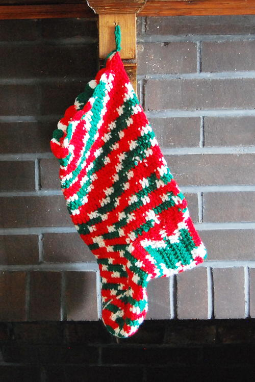 Crochet Christmas Stocking Favecrafts Com