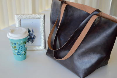One Yard Leather Bag