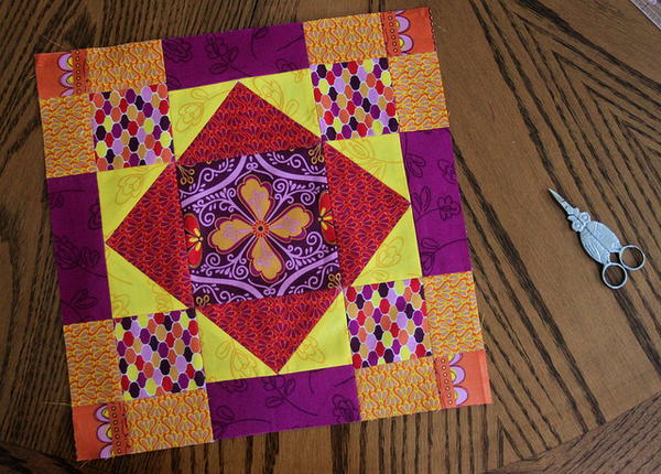 New Leaf Quilt Block