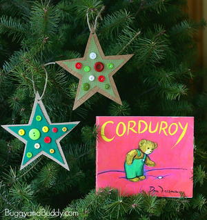 Corduroy's Thrifty Star Ornament Craft