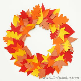 Autumn Leaf DIY Fall Wreath