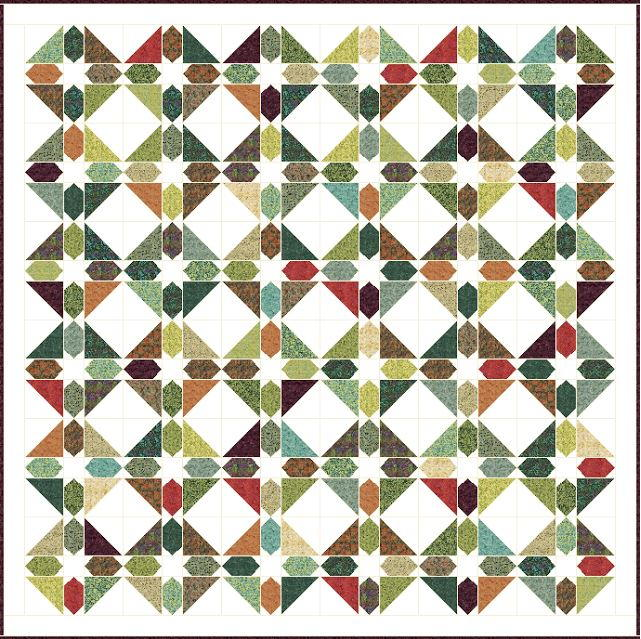 Green Gables Quilt Pattern Favequilts Com