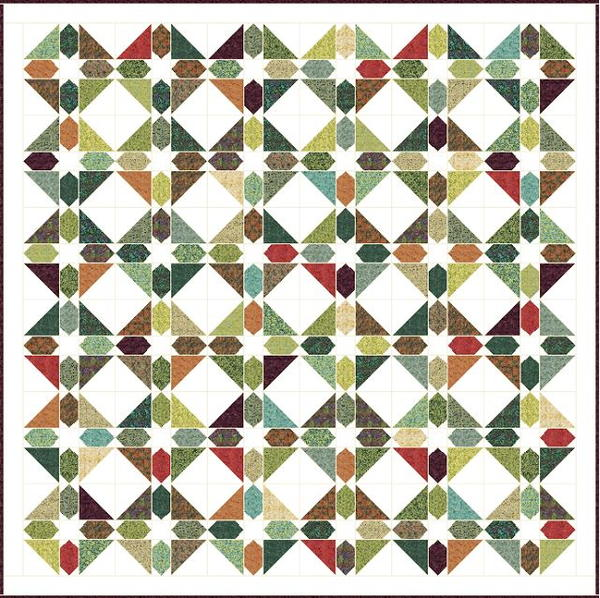 Green Gables Quilt Pattern