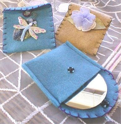 Fanciful Felt Pouches