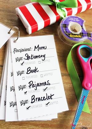 Christmas List Organizer.Sweet Simplicity Printable Christmas List Organizer