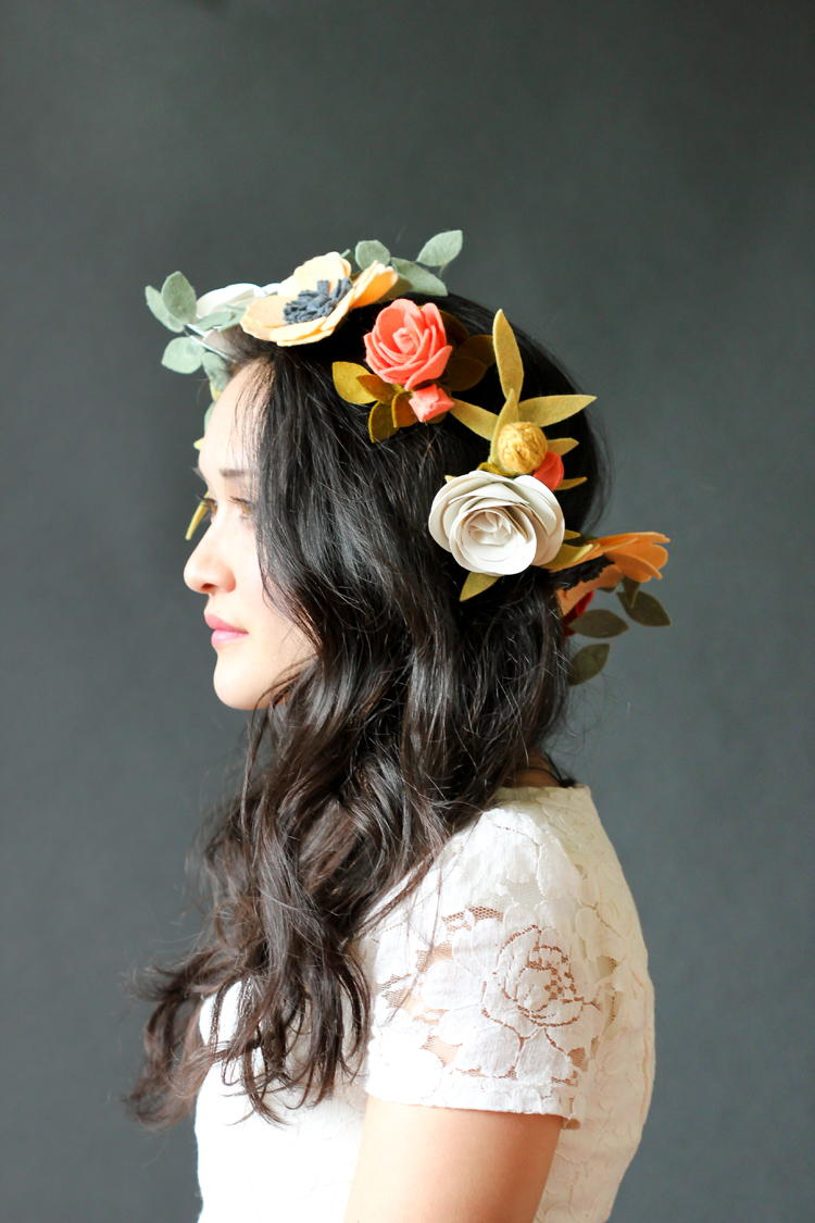 Felt Princess Flower Crown Favecrafts Com