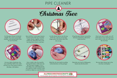 How to Make a Pipe Cleaner Christmas Tree