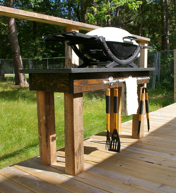 Granite Top DIY Grill Station