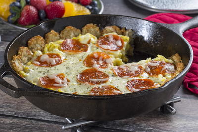 Pizza Breakfast Skillet