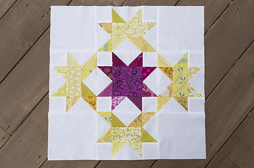 Radiant Splendor Quilt Block