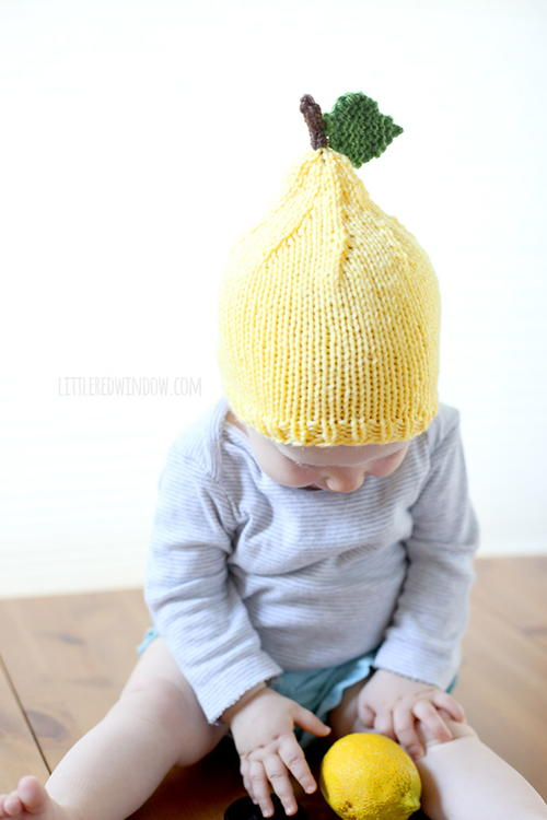 Little Lemon Baby Hat