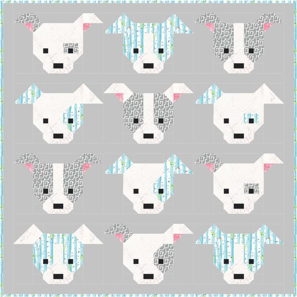 Dog Gone Cute Block Tutorial Favequilts Com