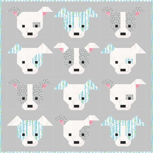 Dog Gone Cute Block Tutorial