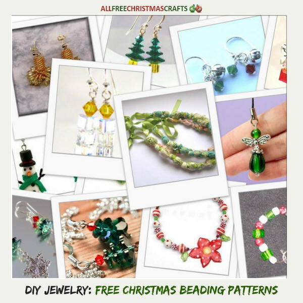 DIY Jewelry: 22 Free Christmas Beading Patterns