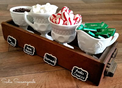 Insanely Easy Holiday Condiment Set