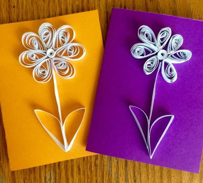 Paper Flower Quilling for Kids