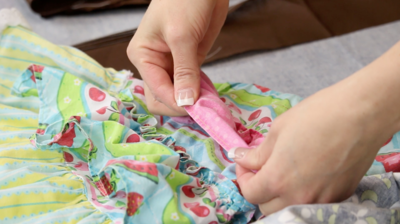 How to Sew a Baby Hem
