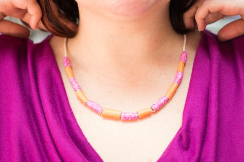 Colorful and Easy Beaded Necklace