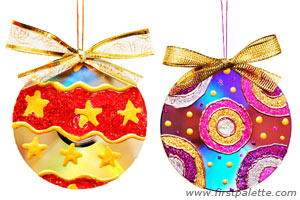 Dazzling CD Homemade Christmas Ornaments