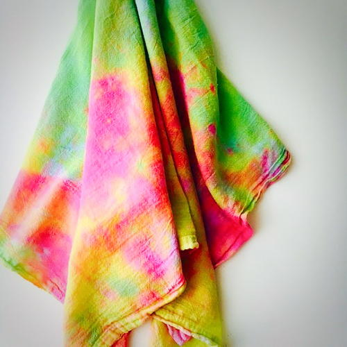 Tie Dye Tea Towels