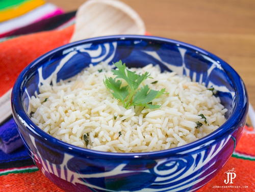 Cilantro Rice Recipe for Homemade Burrito Bowls