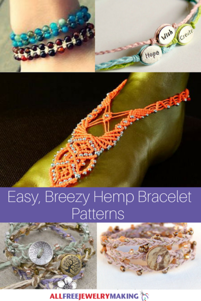 29 Easy, Breezy Hemp Bracelet Patterns
