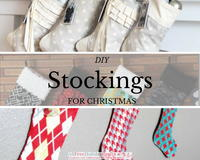 12 DIY Stockings for Christmas