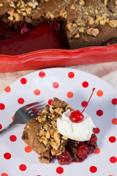 Copycat Cracker Barrel Old Country Store Cherry Chocolate Cobbler
