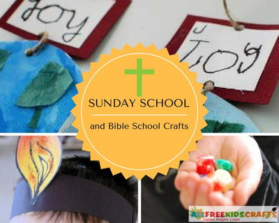 Sunday School and Bible School Crafts